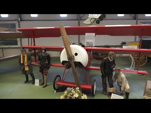 Luftfahrt-Museum Hannover Rundgang Halle 1 2.2.2018 4K