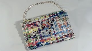 DIY - Bolsa carteira de revista - Handbag Wallet Magazine - Revista Purse thumbnail