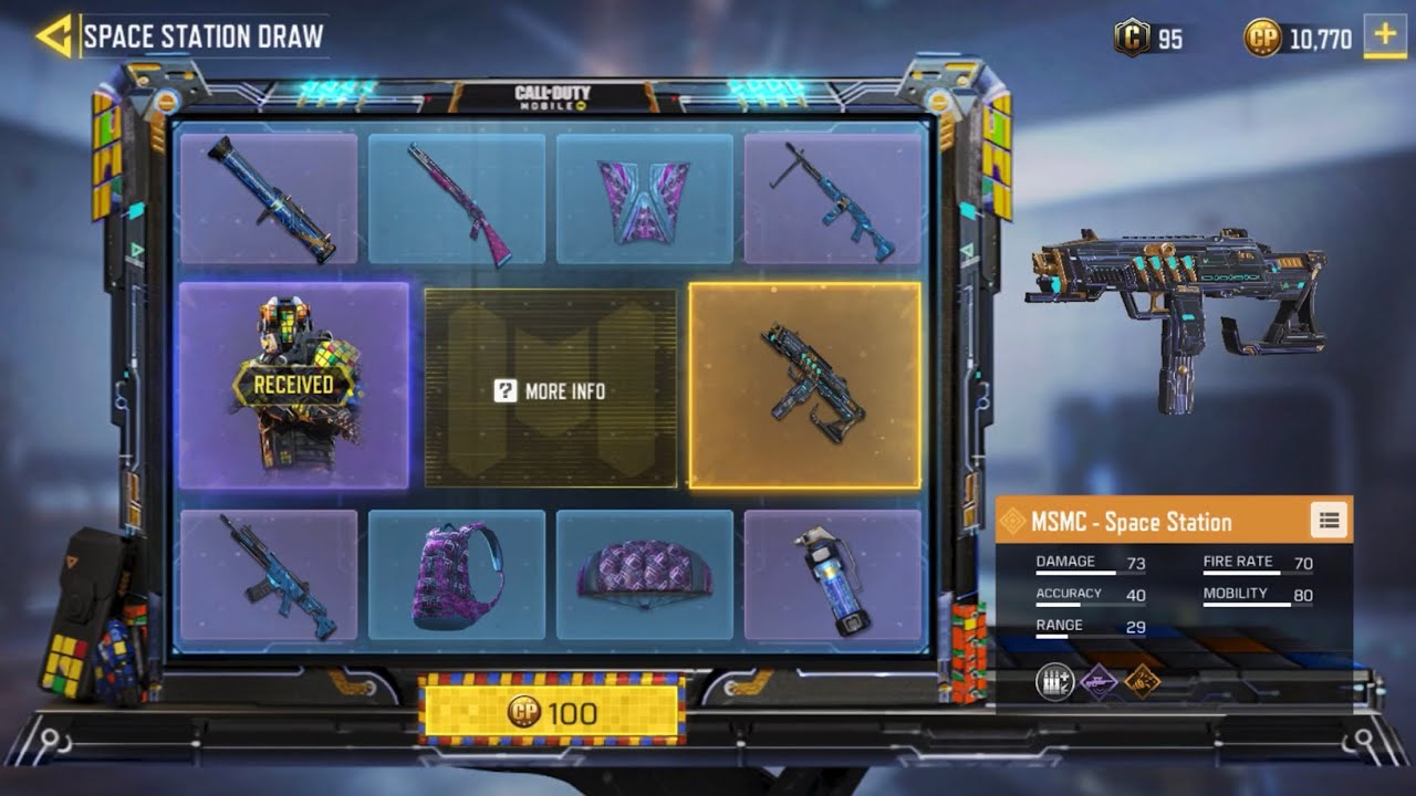 I Unlocked The Puzzle Reaper Skin First Try Luckiest Call Of Duty Mobile Player Lucky Draw