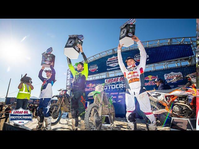 2021 Fox Raceway II National - 450 Class Post Race Press Conference