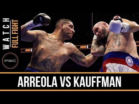 Arreola vs Kauffman FULL FIGHT: Dec. 12, 2015  PBC on NBC
