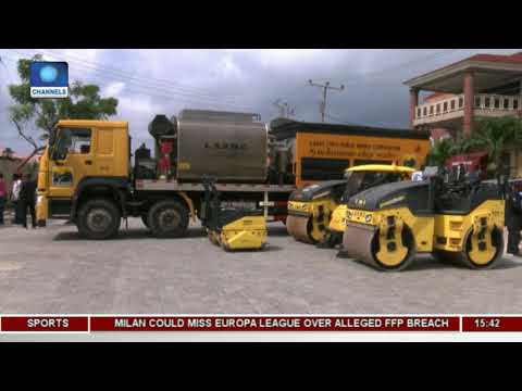 Lagos Procures Paving Stone Printer To Enhance Road Construction |Dateline Lagos|