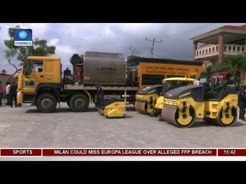 Lagos Procures Paving Stone Printer To Enhance Road Construction |Dateline Lagos|