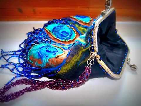 4 янв 2012. Валяние сумки – вид декоративно-прикладного искусства и метод изготовления уникального изделия из непряденой шерсти.