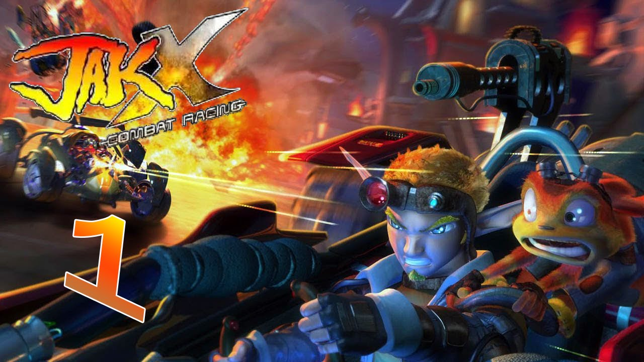 Jak And Daxter Wallpaper 12835797: JAK X Combat Racing #1 ¡Volvemos A Dar Caña A Los Coches