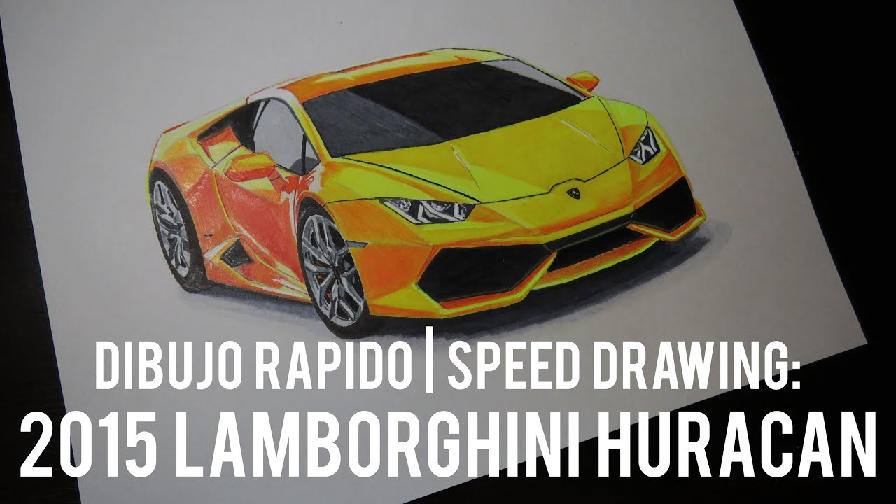 speed drawing lamborghini huracan fernando barrientos. Black Bedroom Furniture Sets. Home Design Ideas