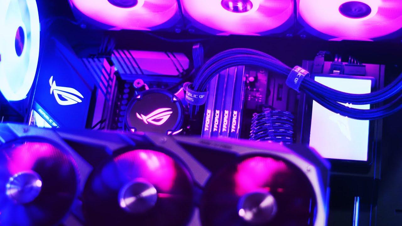 Inupgrade ko ang PC ko sa 64GB RAM   Team Group T-Force Xtreem ARGB + Delta Max SSD