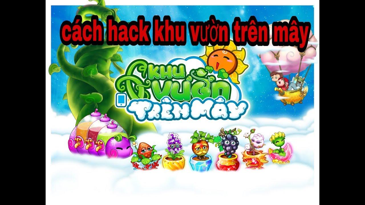 Hack game : hack khu vườn trên mây full vàng full kim cương