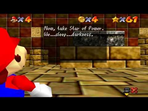 Super Mario 64 Walkthrough - Course 8 - Shifting Sand Land