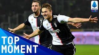 De Ligt's First Juventus Goal | Torino 0-1 Juventus | Top Moment | Serie A