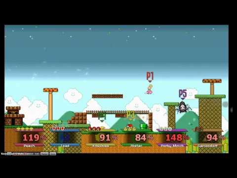Super Smash Bros Crusade v0.9 Test Demo - Part 2 - Weegee Launcher!