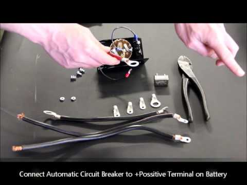 How to assemble a Dump Truck Rotary Switch Kit - YouTube