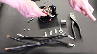 How to assemble a Dump Truck Rotary Switch Kit