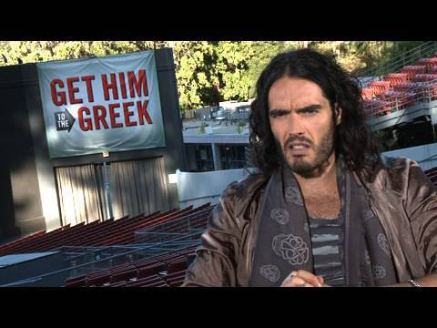'Get Him to the Greek' Russell Brand Interview