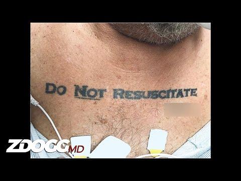 DNR Tattoo: Do Not Respect?   Incident Report 124