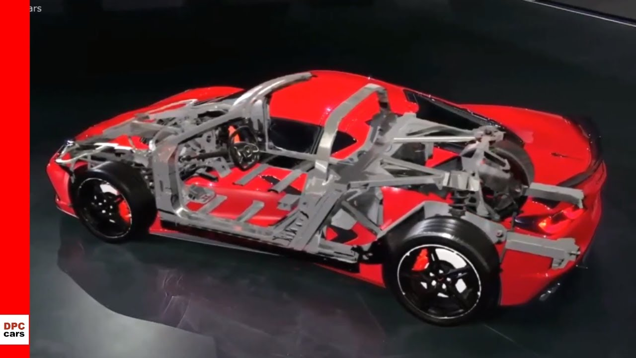 2020 Chevrolet Corvette C8 Stingray Suspension and Chassis - YouTube
