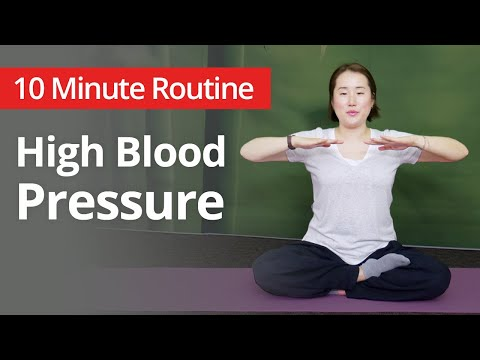 High Blood Pressure Exercises | 10 Minute Daily Routines