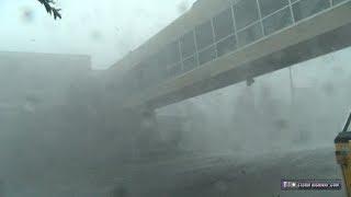 Hurricane Michael Category 5 eyewall - Panama City, Florida
