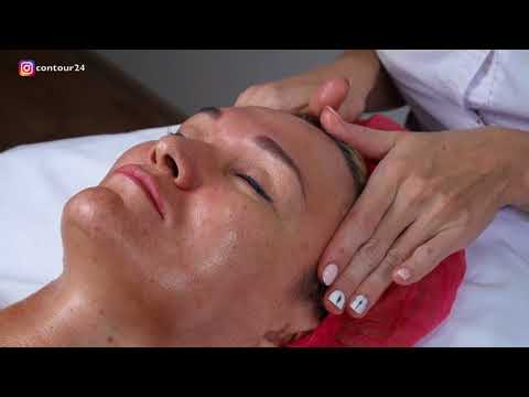 Классический массаж лица | Видеоурок