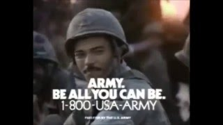 "Army's ""Be All You Can Be"" Commercial"""