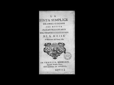 W. A. Mozart - La Finta semplice - Muenchener Rundfunkorchester - R. Alessandrini