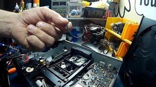 Yamaha Natural Sound CDC-735 5 disk cd player repair