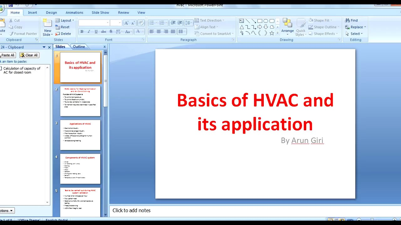 Basics Of Hvac System And Its Applications Youtube Drawing