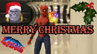 MERRY CHRISTMAS from Spider-Man & Thanos