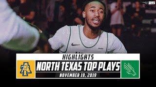 North Texas Basketball Top Plays vs. North Carolina A&T (2019-20) | Stadium