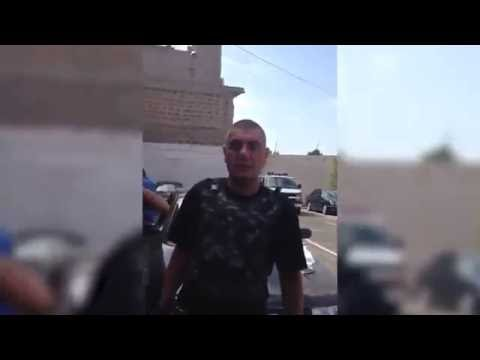 АРМЕНИЯ 17 07 2016 ARMENIA Кадры с заложниками в захваченном здании полиции в Ереване