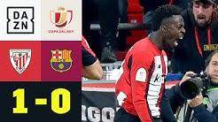 Barca draußen! Williams mit Last-Minute-Lucky-Punch: Bilbao - Barceolona 1:0 | Copa del Rey | DAZN