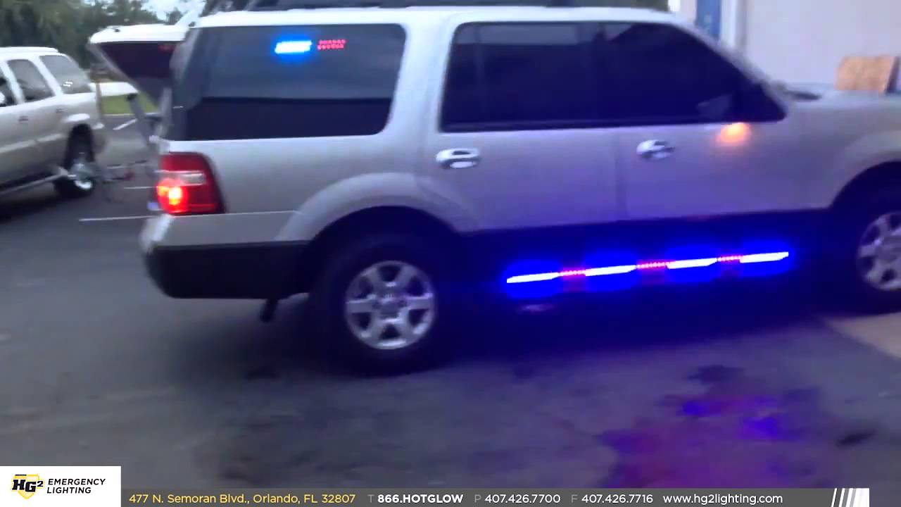 HG2 Emergency Lighting 2014 Ford Expedition Unmarked YouTube
