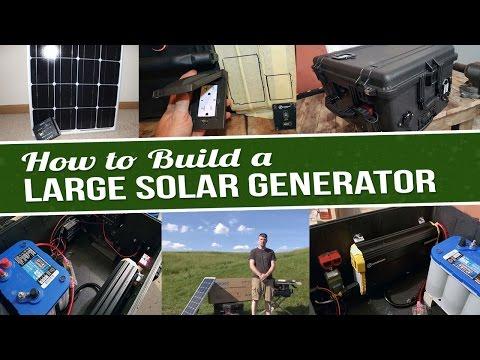 How To Build A Solar Generator (2,000 Watt) – Part 1