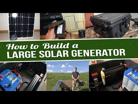 How To Build A Solar Generator (2,000 Watt) – Part 1
