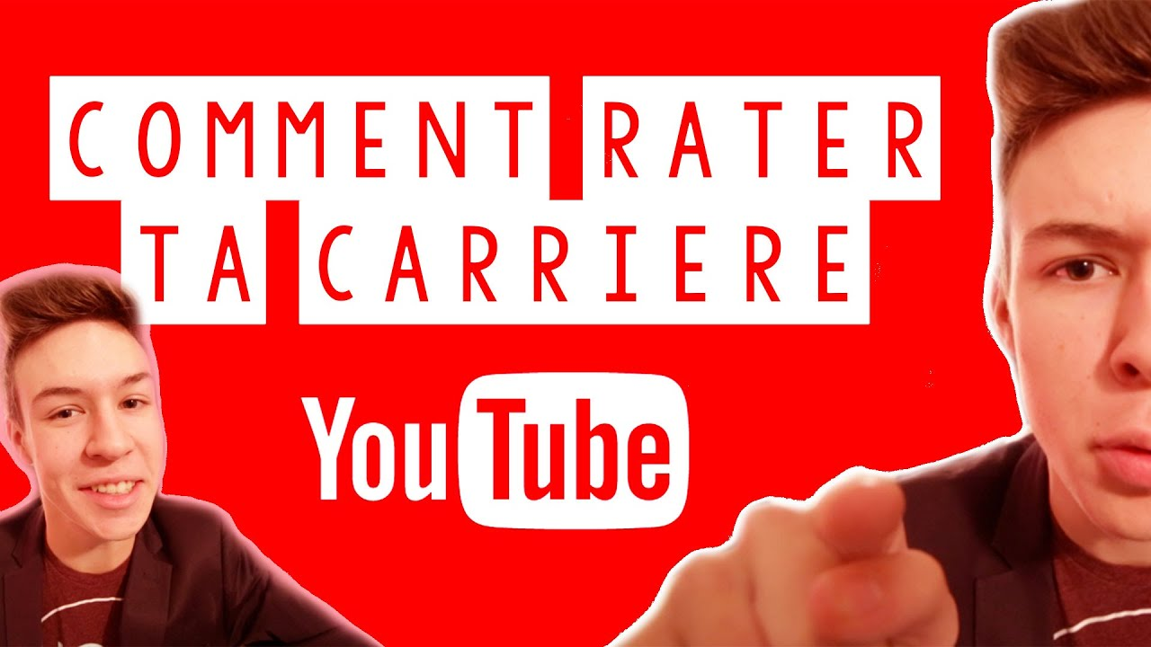 COMMENT RATER SA CARRIERE YOUTUBE ? – Seb la Frite