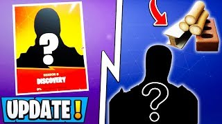 *NEW* Fortnite Update! | Secret Discovery Skin, Building Changes, Female Hybrid!