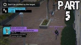 Watch Dogs Gameplay Walkthrough Part 5 - Online Hacking! (Xbox One)