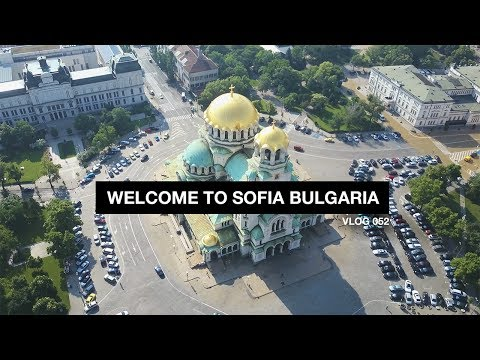 Welcome to Sofia Bulgaria! - Vlog 52