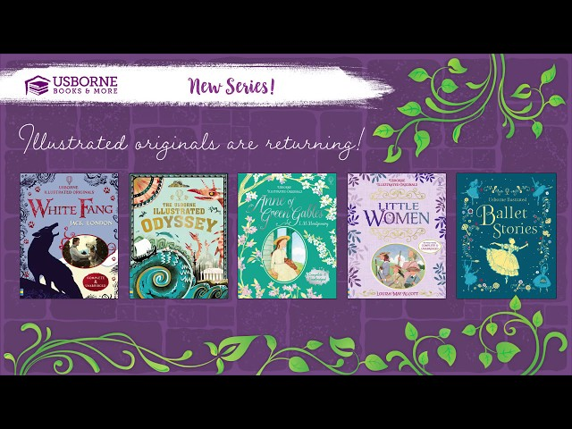Fall 2018 New Titles- New Series From Usborne Books & More!