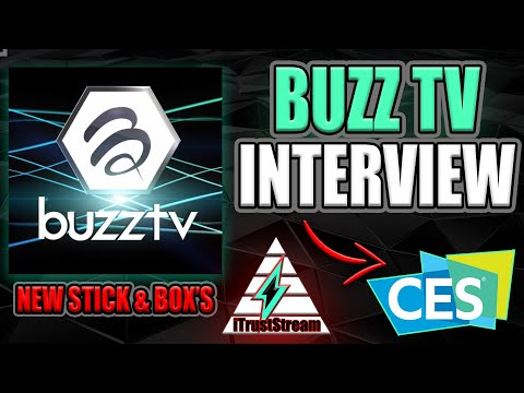 EXCLUSIVE INTERVIEW WITH BUZZ TV AT CES 2020 LAS VEGAS