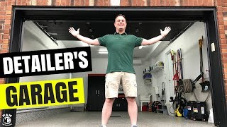 ULTIMATE HOME CAR DETAILING GARAGE TOUR !!!