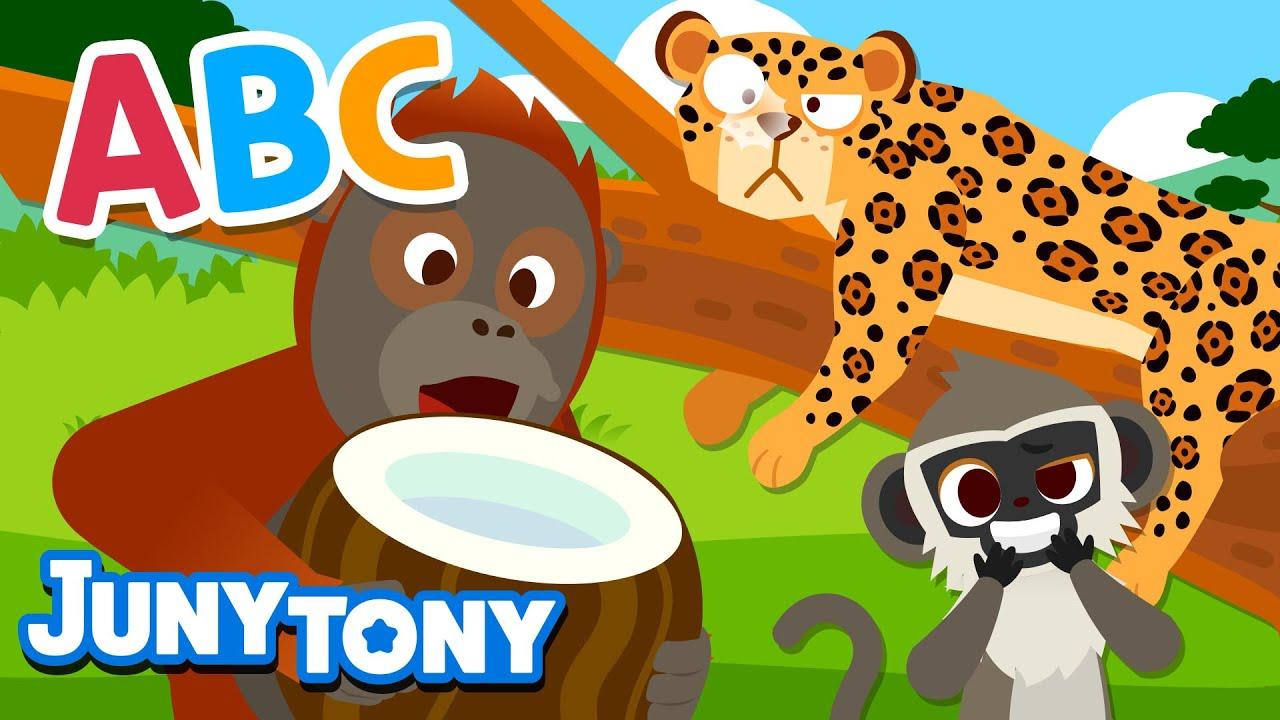 Alphabet Animals 2 | Animal Songs for Kids | Alphabet & Phonics Songs | Preschool Songs | JunyTony