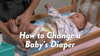 How to Change a Baby