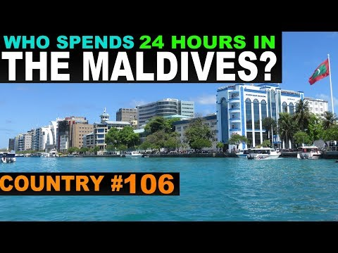 A Tourist's guide to Male, Maldives