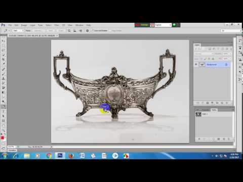 How to remove white background from an image using clipping path process?