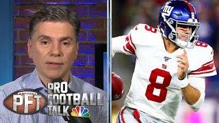 Daniel Jones not overwhelmed by New England Patriots defense | Pro Football Talk | NBC Sports
