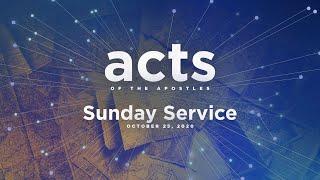 Sunday Service - October 25, 2020