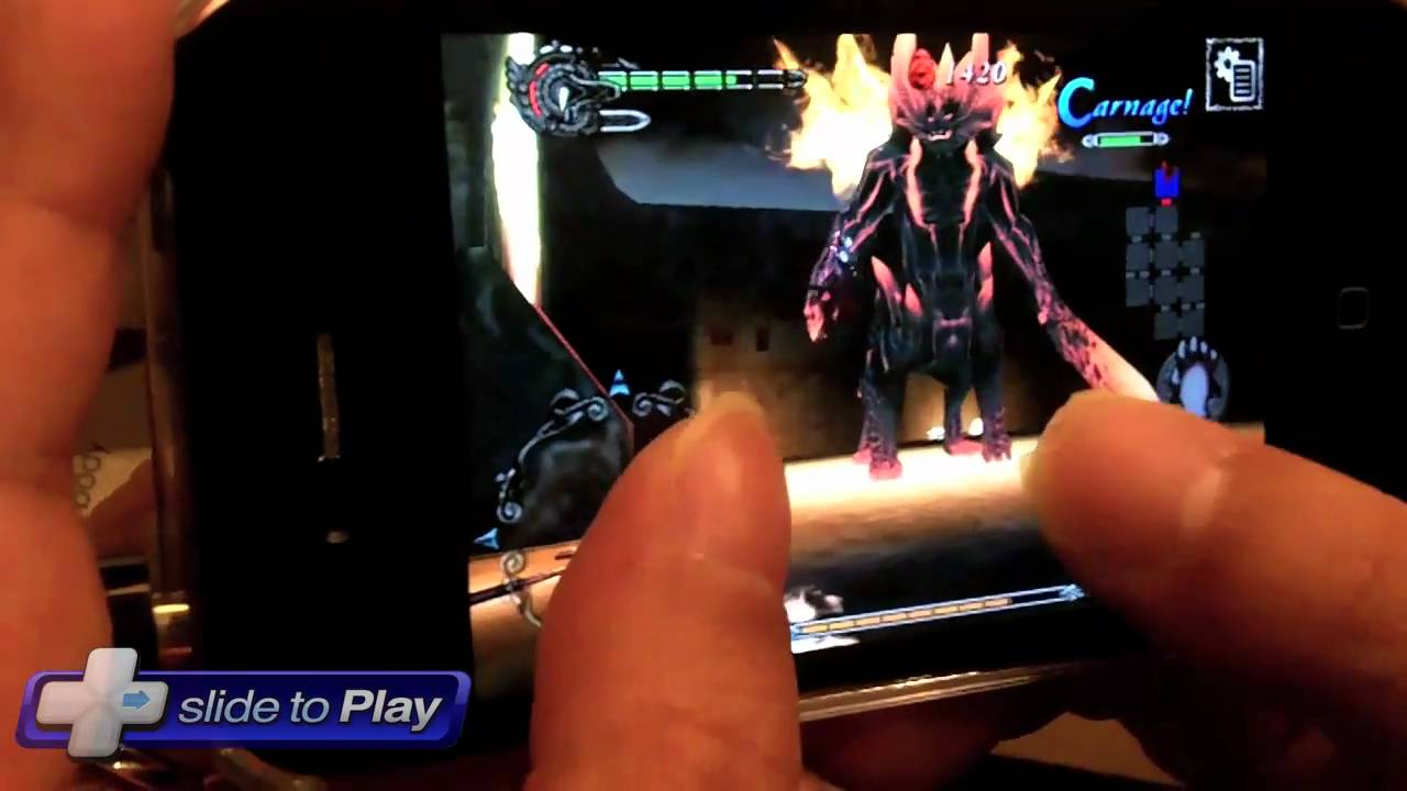Devil May Cry 4 Refrain iPhone Hands-On Video