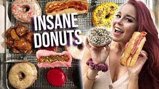 TRYING DONUT TASTE TEST IN NYC