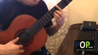 Somewhere In Time - John Barry (solo guitar cover)